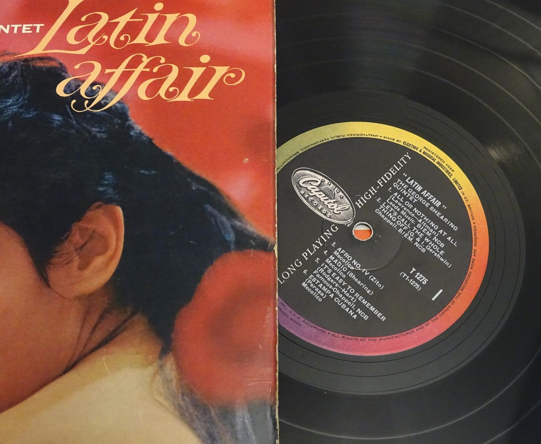 A collection of 20thC 33 rpm Vinyl records / LPs - Jazz, comprising: Bert Kaempfert: This is Bert - Image 4 of 8
