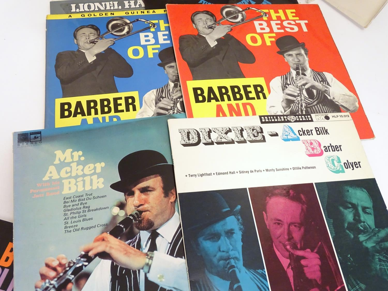 A collection of 20thC 33 rpm Vinyl records / LPs, - Jazz, comprising: The Eddie Condon Floor Show 2, - Image 11 of 19