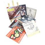 A collection of 20thC 33 rpm Vinyl records / LPs - rock n' roll, popular music, comprising: Please