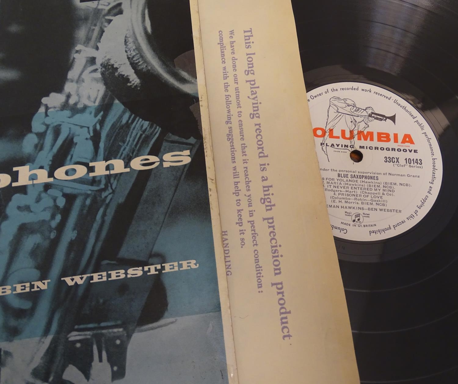 A collection of 20thC 33 rpm Vinyl records / LPs, - Jazz, comprising: The Eddie Condon Floor Show 2, - Image 16 of 19