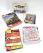A quantity of 20thC American magazines to include Life, Saturday Evening Post, Companion, Town