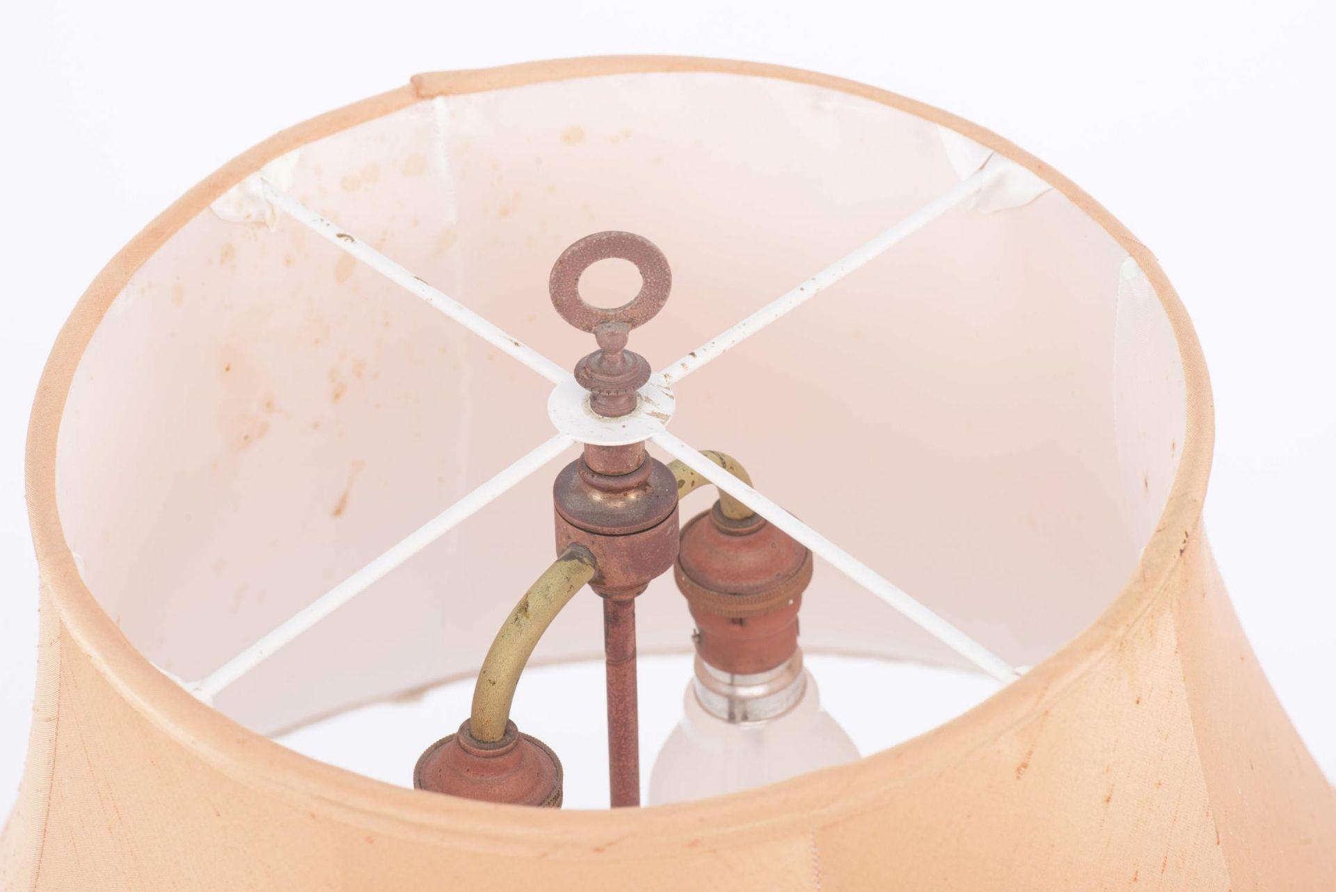 Lampe de table à pied en porcelaine de Chine - Image 18 of 20