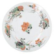 Coupe en porcelaine de Chine, famille verte, époque Kangxi