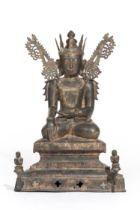 Bouddha Birman Sham, dit Jambhupati Buddha, XVIIe-XVIIIe
