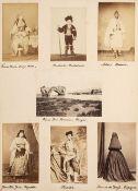 Europe. Photograph album, c.1870-80, decorative binding by August Klein of Vienna
