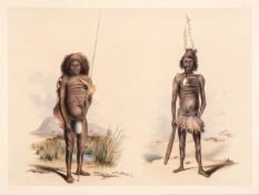 * Angas (George French).Thirteen plates from South Australia Illustrated, 1846-47