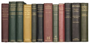 Buchanan (Sir George). My Mission to Russia, 1st edition, 1923, & 10 others on Russia