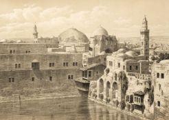 Pierotti (Ermete). Jerusalem Explored, 2 volumes, 1st edition, 1864