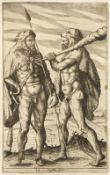 Clüver (Philipp). Germaniae antiquae libri tres, 1st edition, Elzevir, 1616, ex libris Thomas