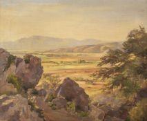 "* Marshall (M., early 20th century). ""Sunlit plains, Taxila"", 1928"