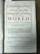 Heylyn (Peter). Cosmographie ... Containing the Chorographie and Historie of the Whole World, 1669