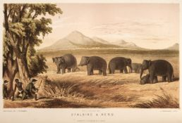 Baker (Samuel W.). The Rifle and the Hound in Ceylon, 1st edition, 1854, & 9 others on Sri Lanka