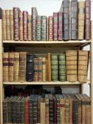 Antiquarian. A large collection of mostly 19th century literature