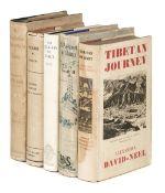 David-Neel (Alexandra). Tibetan Journey, 1st edition, 1936 & 4 others