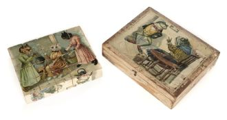 * Wain (Louis). Set of picture blocks, circa 1910
