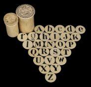 * Alphabet. London Plaything, circa 1810
