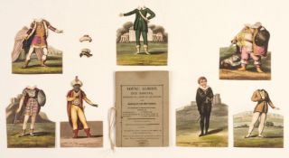 Paper Doll Book. Young Albert, the Roscius, 2nd edition, 1811