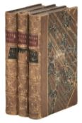 Dickens (Charles). Oliver Twist, 3 volumes, 1st edition, 1st issue, 1838
