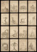 * Sketchley (James, publisher). New Invented Conversation Cards, 1770