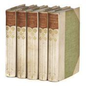 Austen (Jane). The Works of Jane Austen, 5 volumes, reprinted, 1900-1901