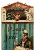 Punch and Judy. Die-cut shaped book, London: Ernest Nister, [1891?]
