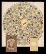 Harris (John & Wallis, John). Historical Pastime or a New Game of the History of England, 1803