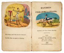 Marshall (John, publisher). The Dandies' Perambulations