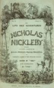 Dickens (Charles). The Life and Adventures of Nicholas Nickleby, 1st edition, 1839