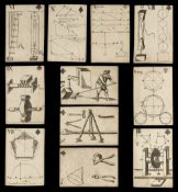 * Moxon (J., publisher). Geometrical Playing Cards, London, 1697