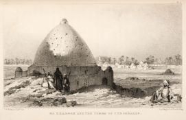 Hoskins (G. A.). Visit to the Great Oasis of the Libyan Desert, 1st edition, 1837, & 1 other