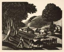 Leighton (Clare). The Farmer's Year. A Calendar of English Husbandry, 1934