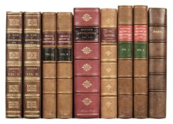 Hutchinson (William). A View of Northumberland, 1st edition, 1778, & 5 others