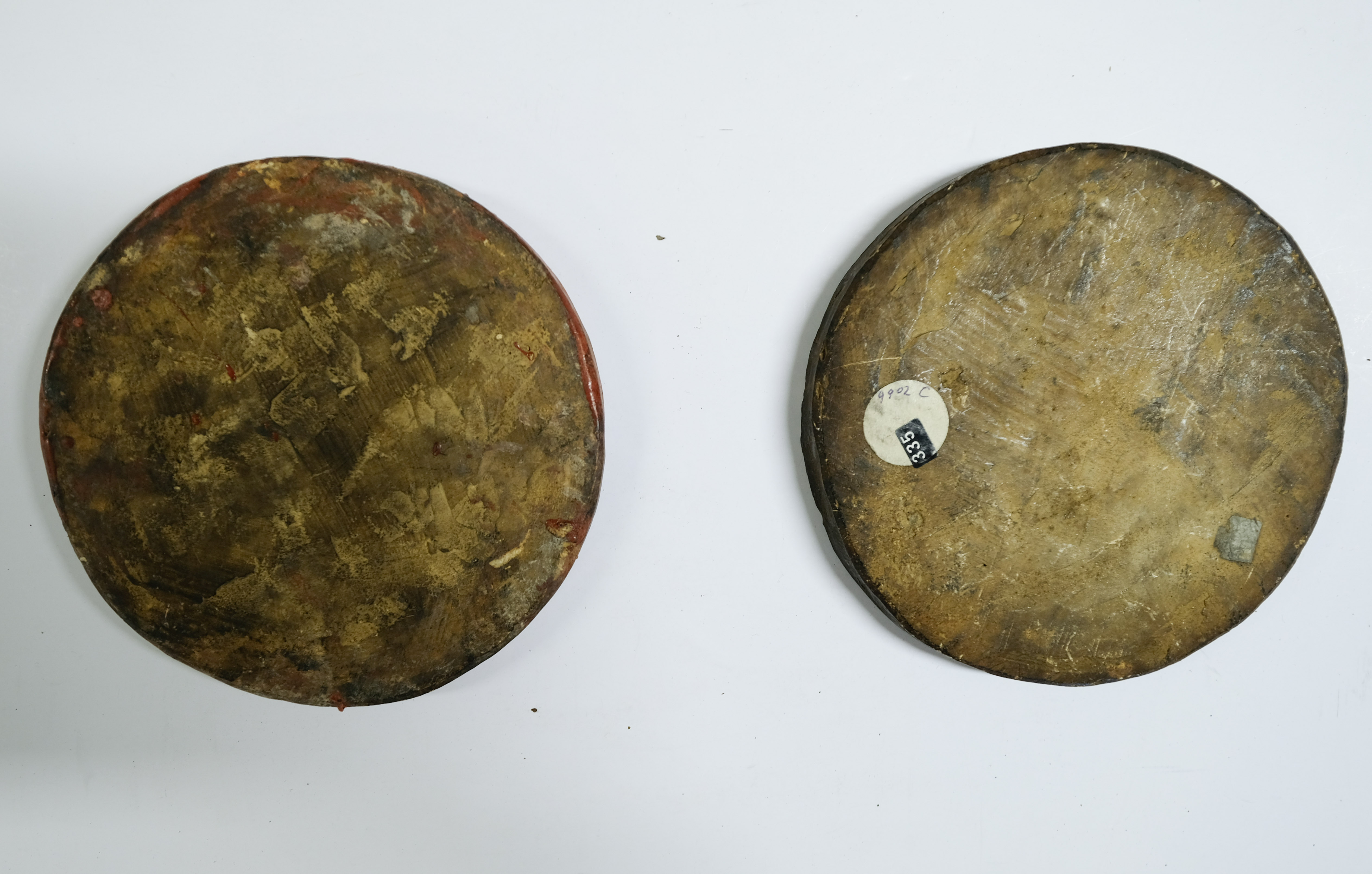 * Great Seal moulds. Plaster cast moulds of the Great Seal of George III, (reign 1760-1820) - Image 4 of 4