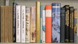 * Band (George, Mount Everest expedition member). Collection of books from his library, 20th c.
