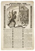 Broadsheets & Broadsides. A collection of 21 broadsheets & broadsides, early 19th century