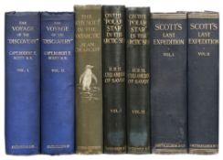 Scott (Robert F.) The Voyage of the 'Discovery', 2nd impression, 1905, & 3 others