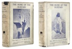 Mawson (Douglas). The Home of the Blizzard, 1st US edition, 1915, with the rare dust jackets