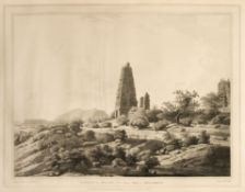 Colebrook (Robert H.). Twelve Views of Places in the Kingdom of Mysore, 1st edition, 1793