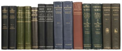 "Amundsen (Roald). ""The North West Passage"", 1908, & 7 others by Scandinavian explorers"