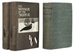 """Brown (R. N. Rudmose). The Voyage of the """"Scotia"""", 3 copies, 1st editions, 1906"""