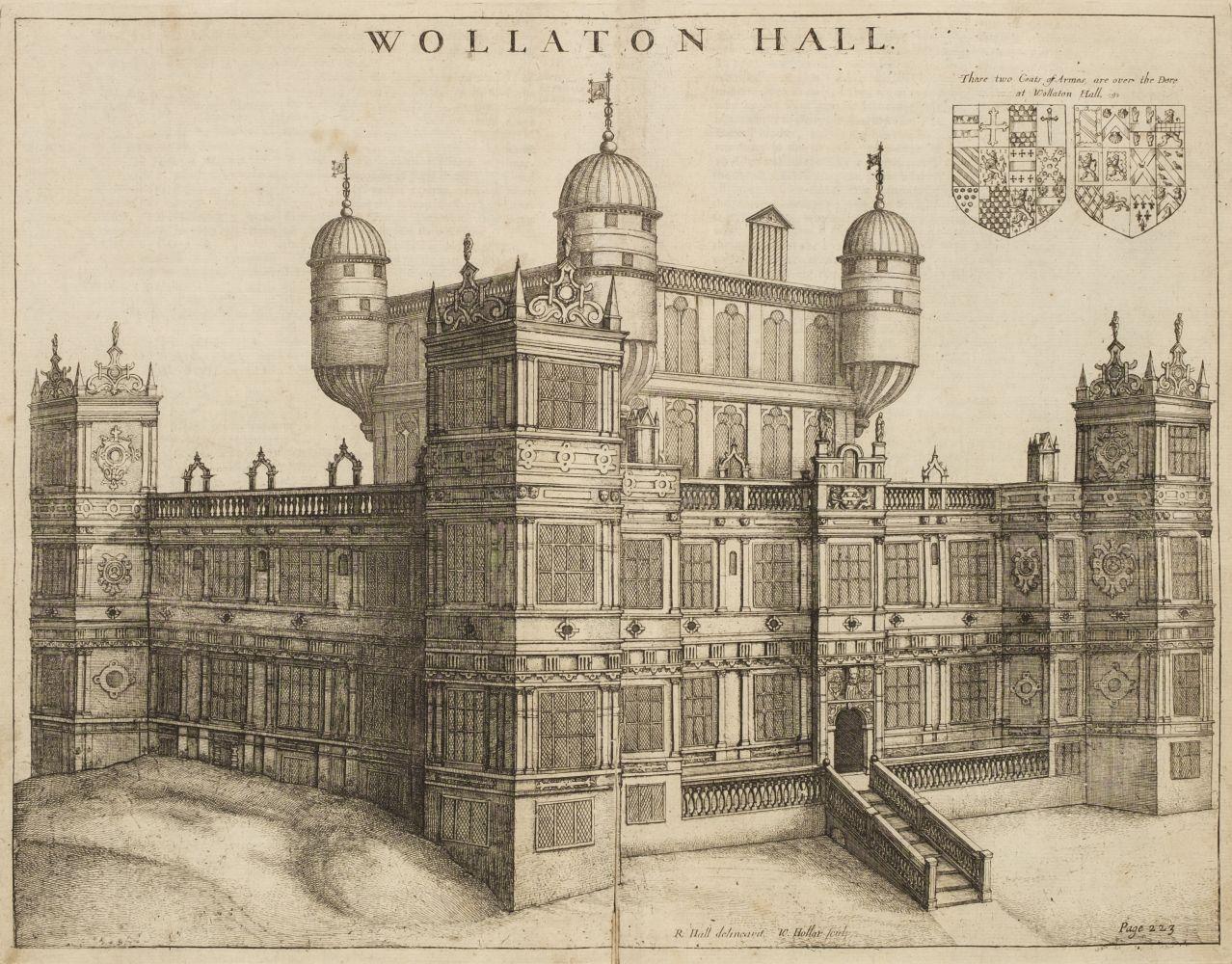 Thoroton (Robert). The Antiquities of Nottinghamshire, 1677