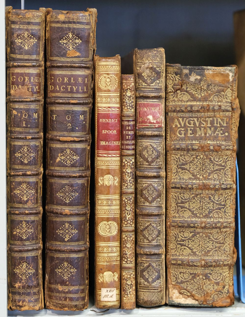 Gorlaeus (Abraham). Dactyliothecae, 2 volumes, 1707