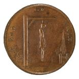 * Token, Middlesex. Thomas Spence's Series, Halfpenny, 1793