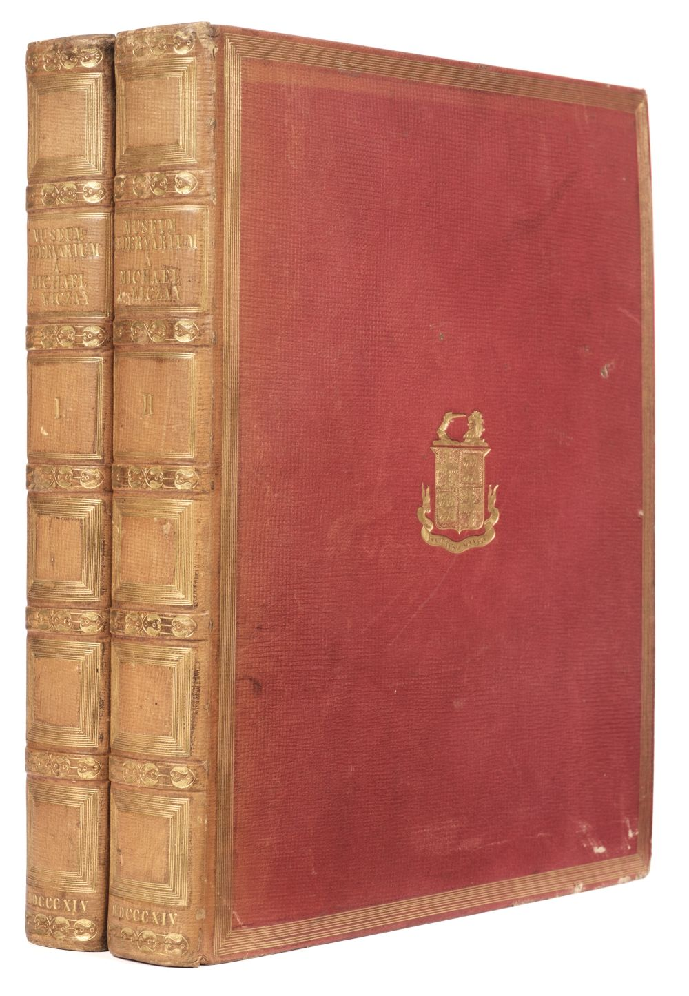 Viczay (Mihaly). Musei Hedervarii in Hungaria numos antiquos ... descripsit, 1st edition, 1814