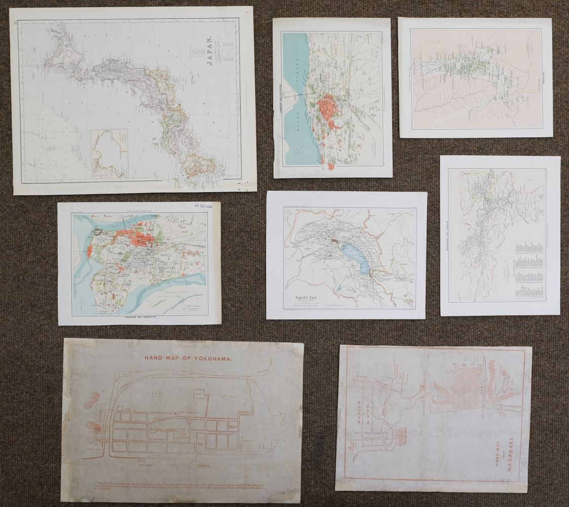 China & Asia. A mixed collection of approximately 40 maps, mostly 18th & 19th century - Image 3 of 5
