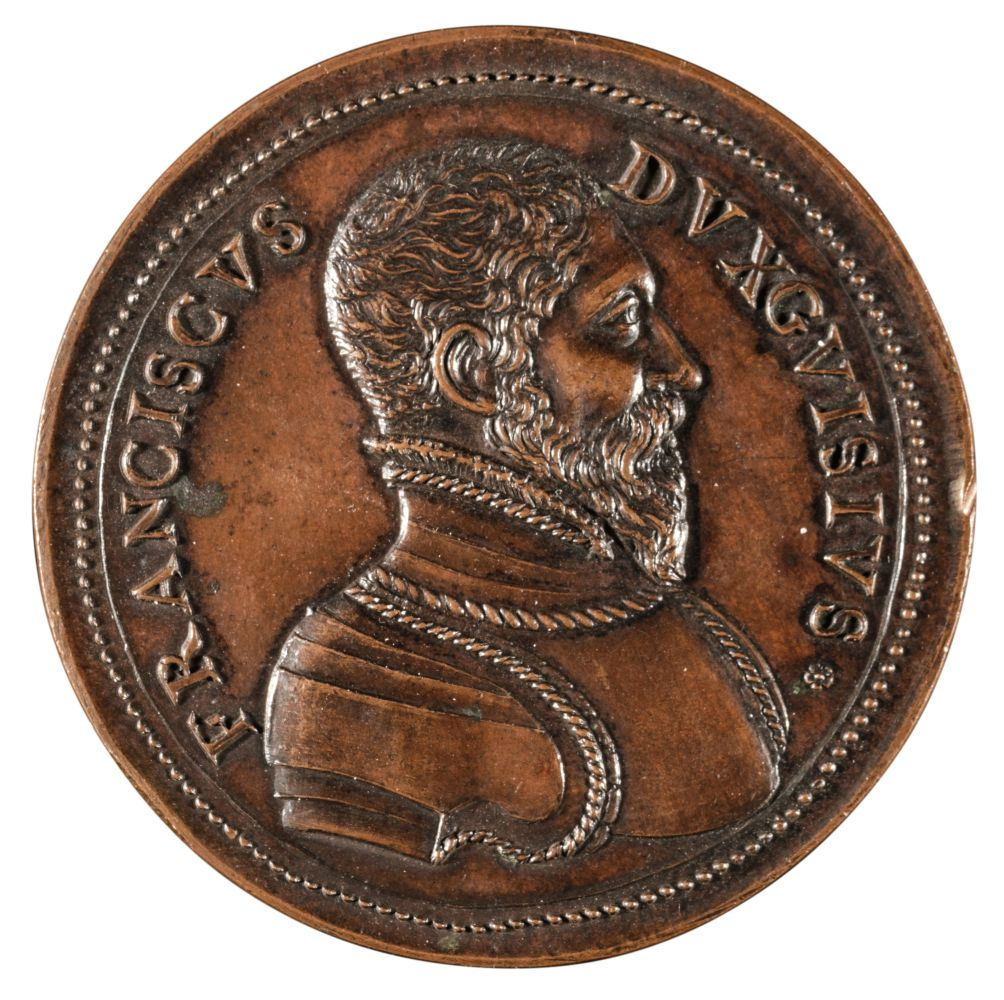 * Medal. Dukes of Guise, bronzed copper medal, 17th or 18th century