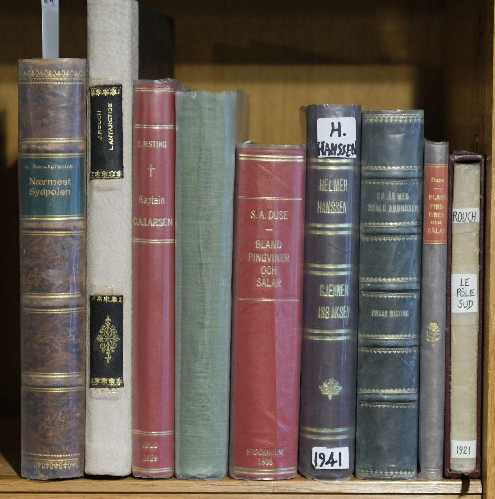 Rouch (Jean). L'Antarctide, voyage du Pourqui-Pas? (1908-1910), 1st edition, Paris, 1926