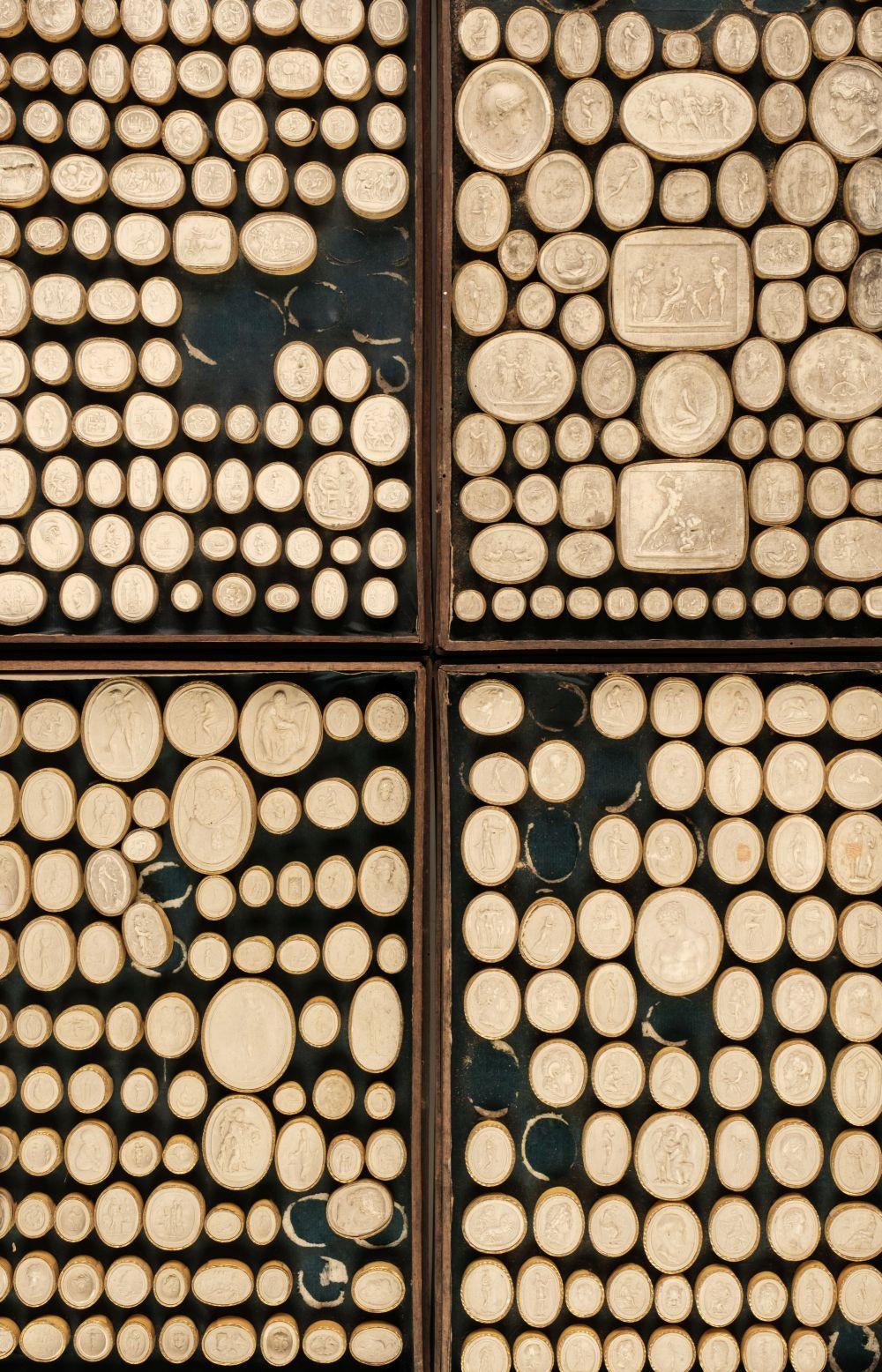 * Grand Tour Plaster Intaglios, 19th century