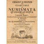Beger (Lorenz). Observationes et conjecturae in numismata quaedam antiqua, 1691