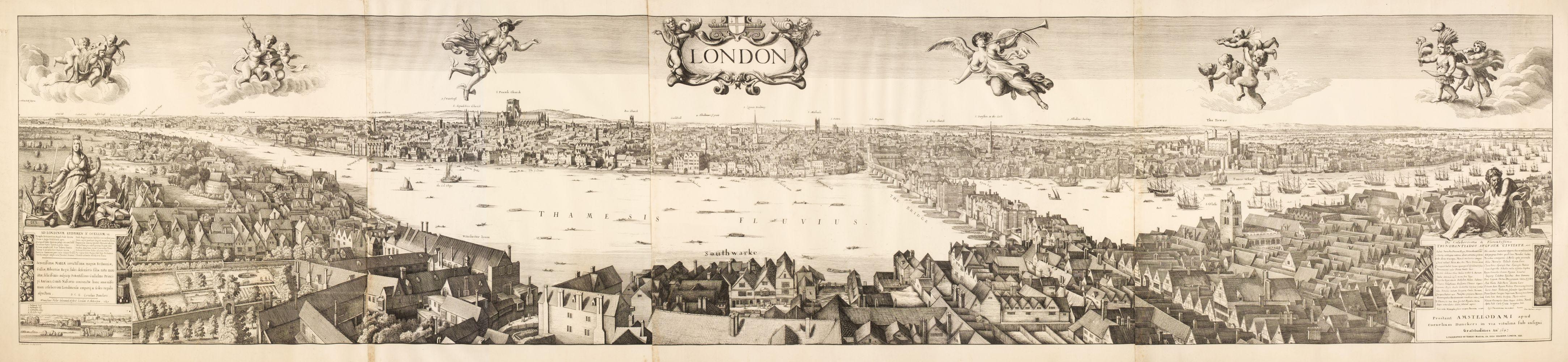London. Martin (Robert after Cornelius Dankers). London, 1832